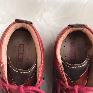 PIKOLINOS Shoes - Pikolinos lace up leather boots LIKE NEW